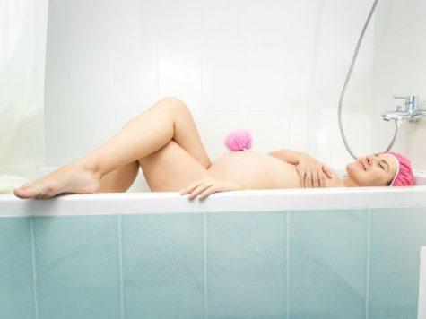 Ce risti atunci cand face baie in cada in timpul sarcinii - IV